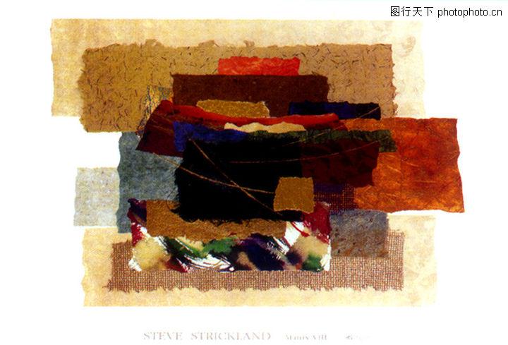 抽象画,墙饰画,抽象画0140