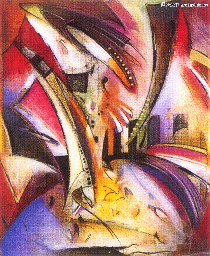 抽象画,墙饰画,抽象画0141