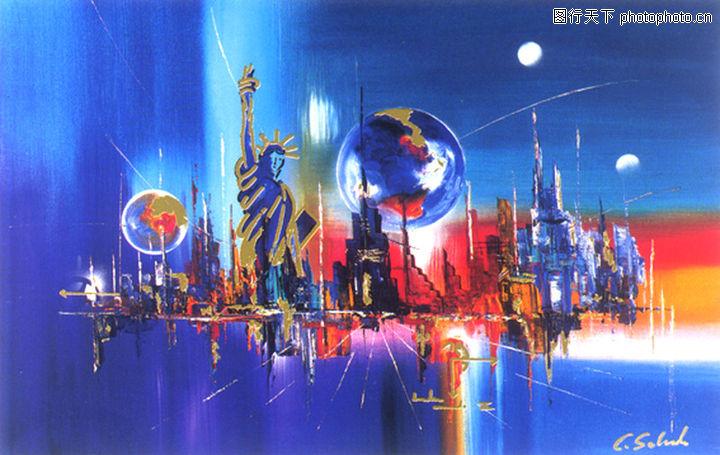 梦幻画,墙饰画,梦幻画0017