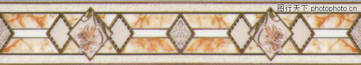 彩陶线,花边角线,彩陶线0002