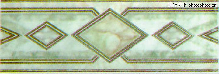 彩陶线,花边角线,彩陶线0136