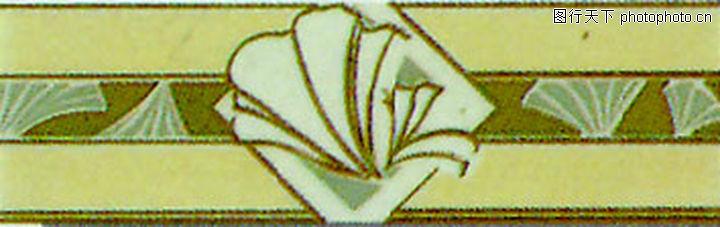 彩陶线,花边角线,彩陶线0142