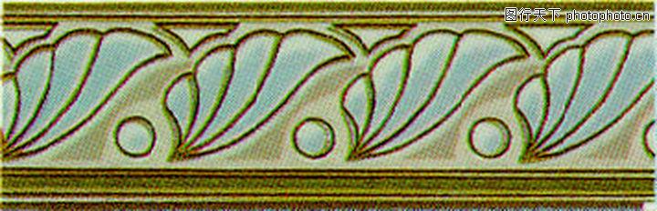 彩陶线,花边角线,彩陶线0151