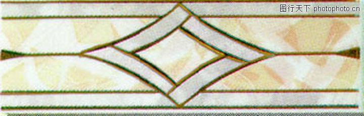 彩陶线,花边角线,彩陶线0155