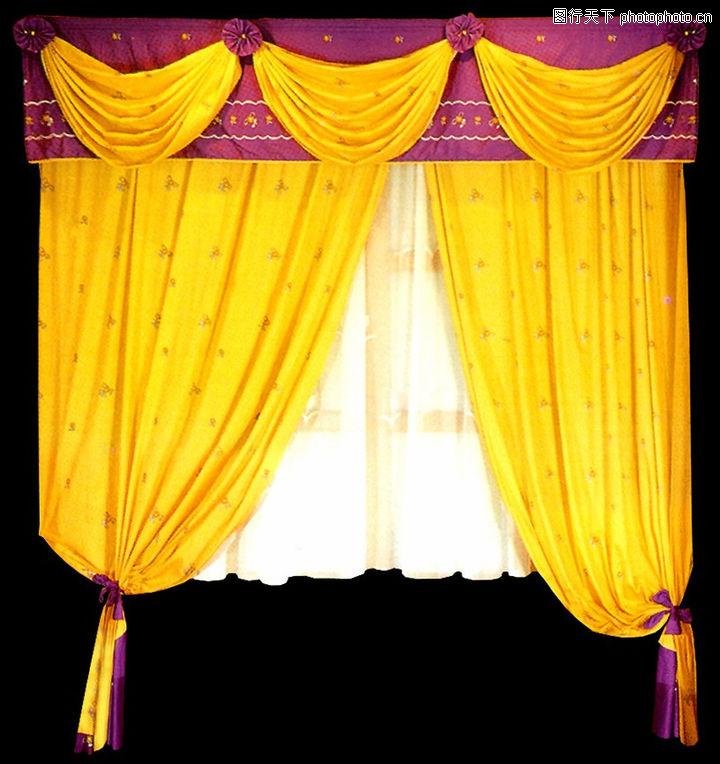 窗帘,窗门,窗帘0047