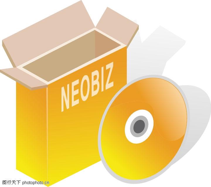 电脑资讯 科技 纸盒 软件光碟; 内裤通用包装盒子.; 电子产品[ai]