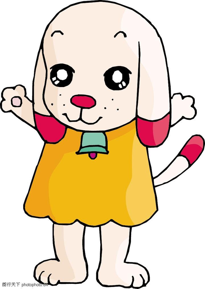 卡通形象,动物,小狗 宠物
