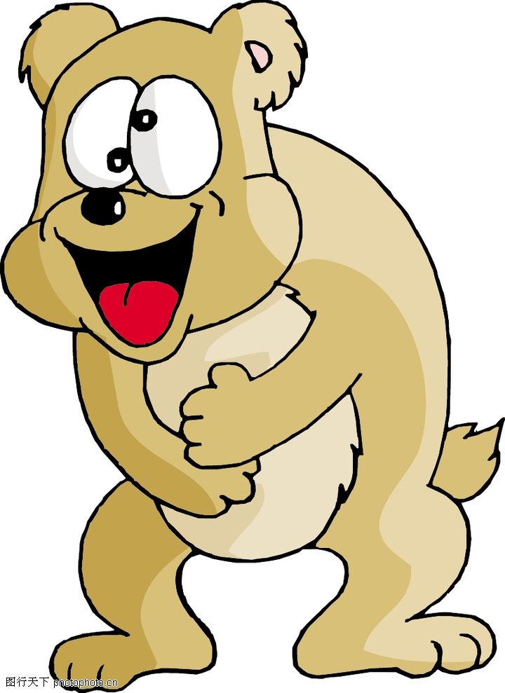 卡通形象,动物,张嘴,卡通形象0078