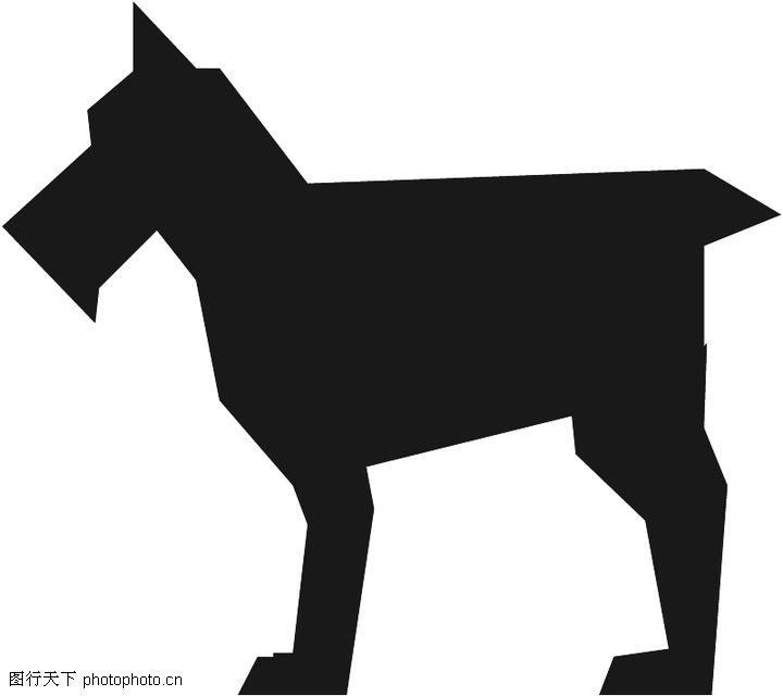 动物形态,动物,动物画 侧面,动物形态0001