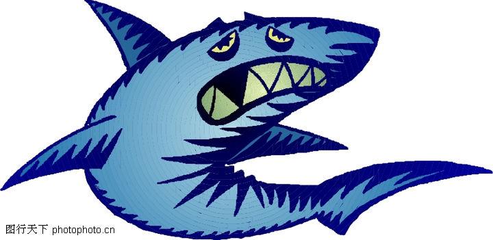 水中动物,动物,鲨鱼 凶猛鱼