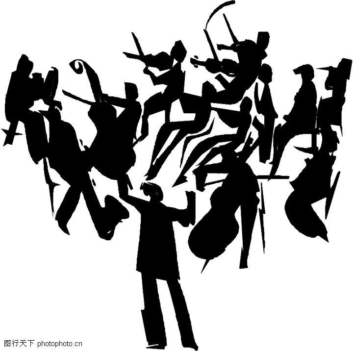 音乐与舞蹈;; 音乐艺术卡通漫画; 音乐与舞蹈-音乐艺术,斧头帮舞蹈