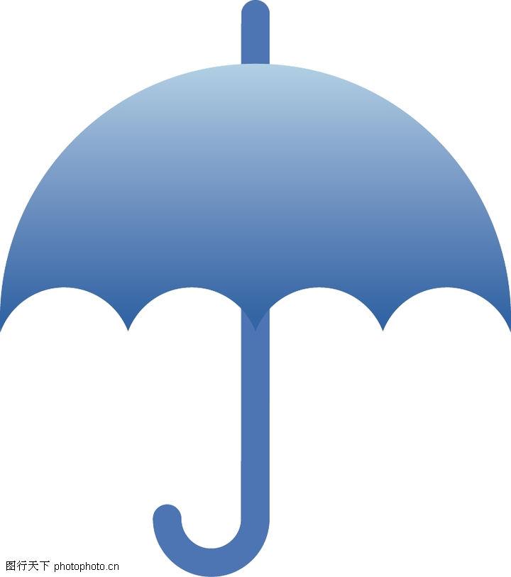 雨伞结构示意图