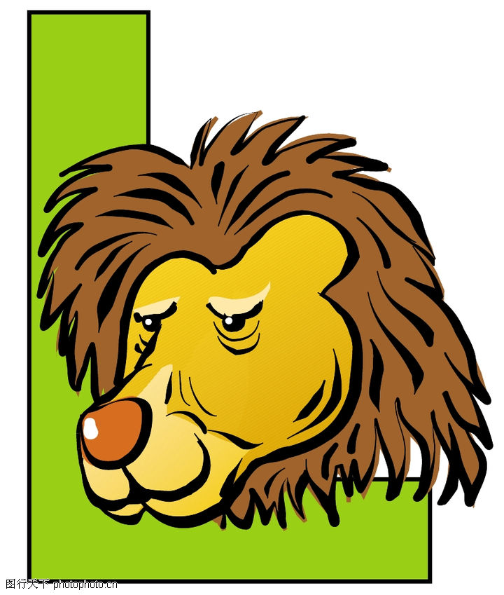 字母与字符,标识图形,狮子头部,字母与字符0079