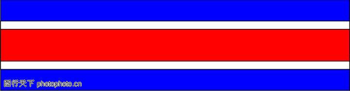 红蓝条纹边框背景素材