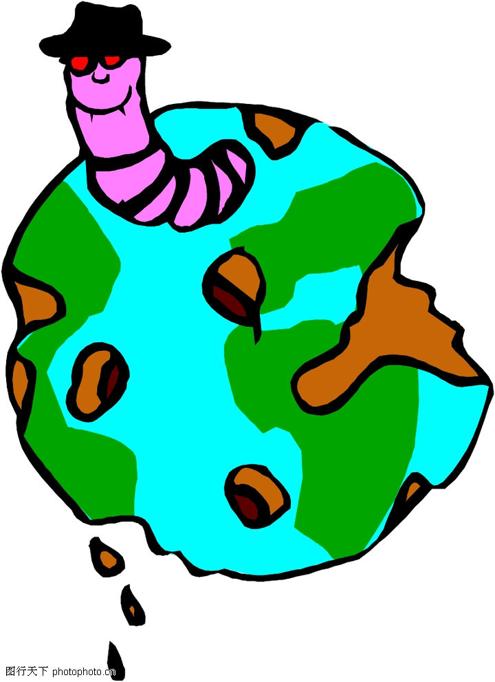 地球,军事科学,卡通画