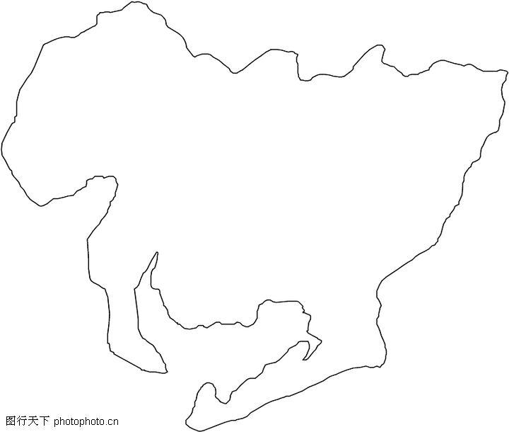 手绘世界地图简图