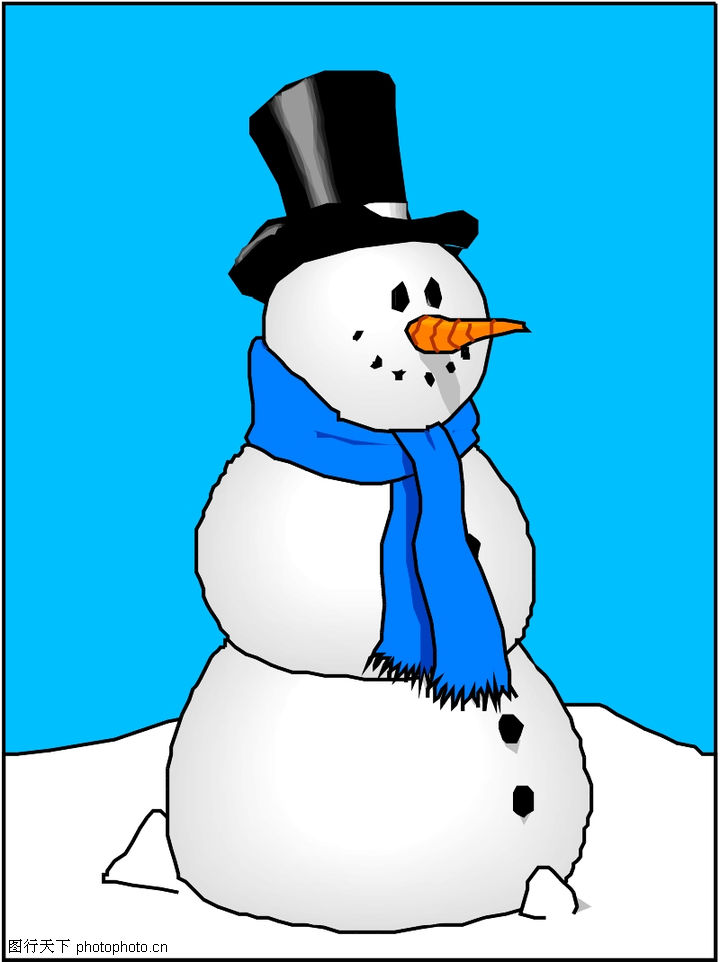 冬天动漫头像男生