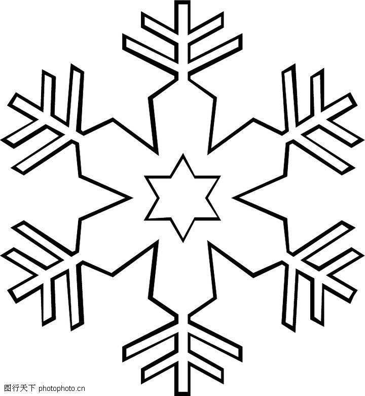 关于冬天的简笔画