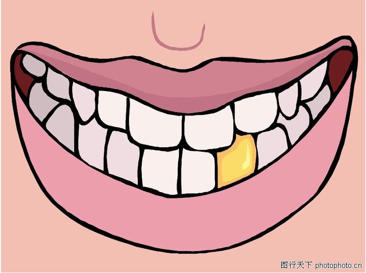 爱牙小报图片_牙齿0004-健康医疗图-健康医疗图库-嘴唇