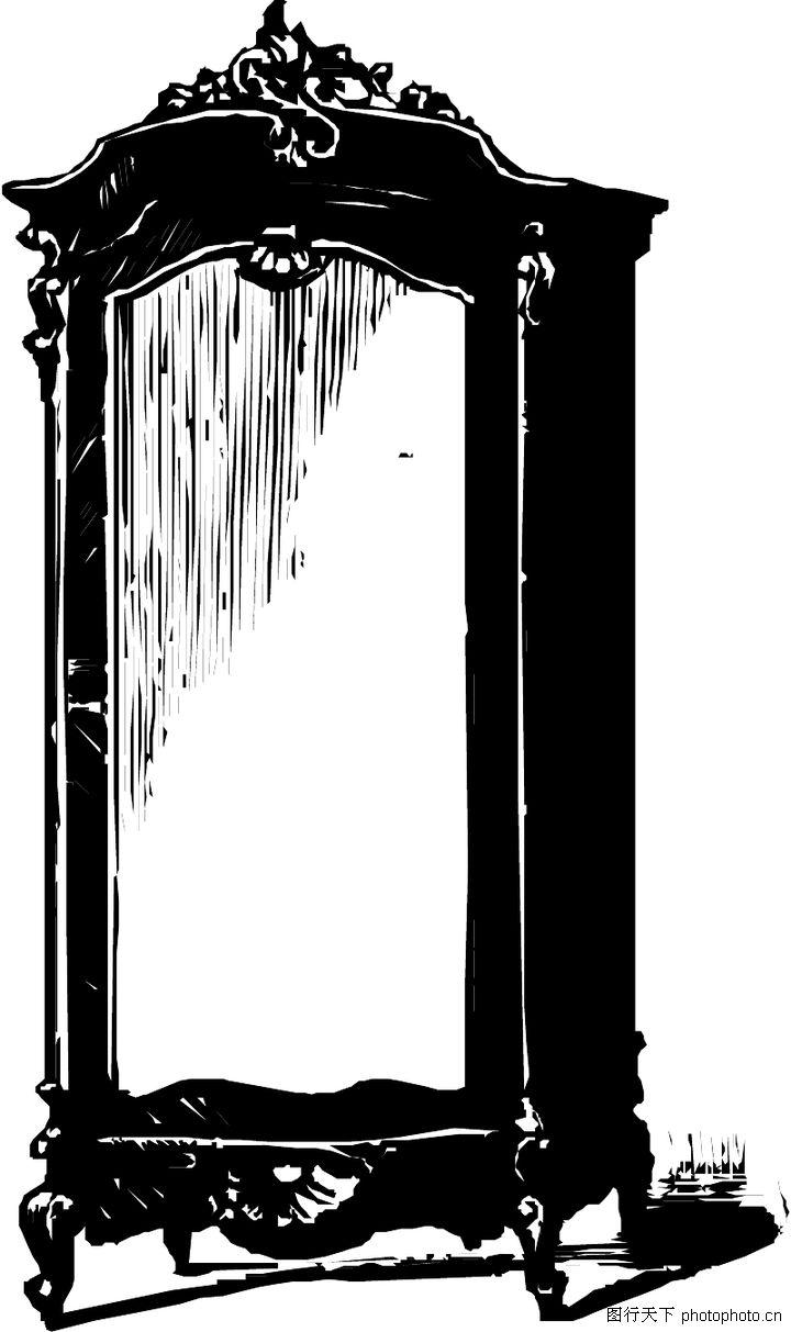欧式单体家具手绘效果图