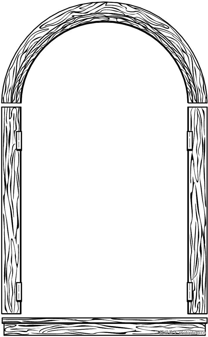 边框背景,木边框
