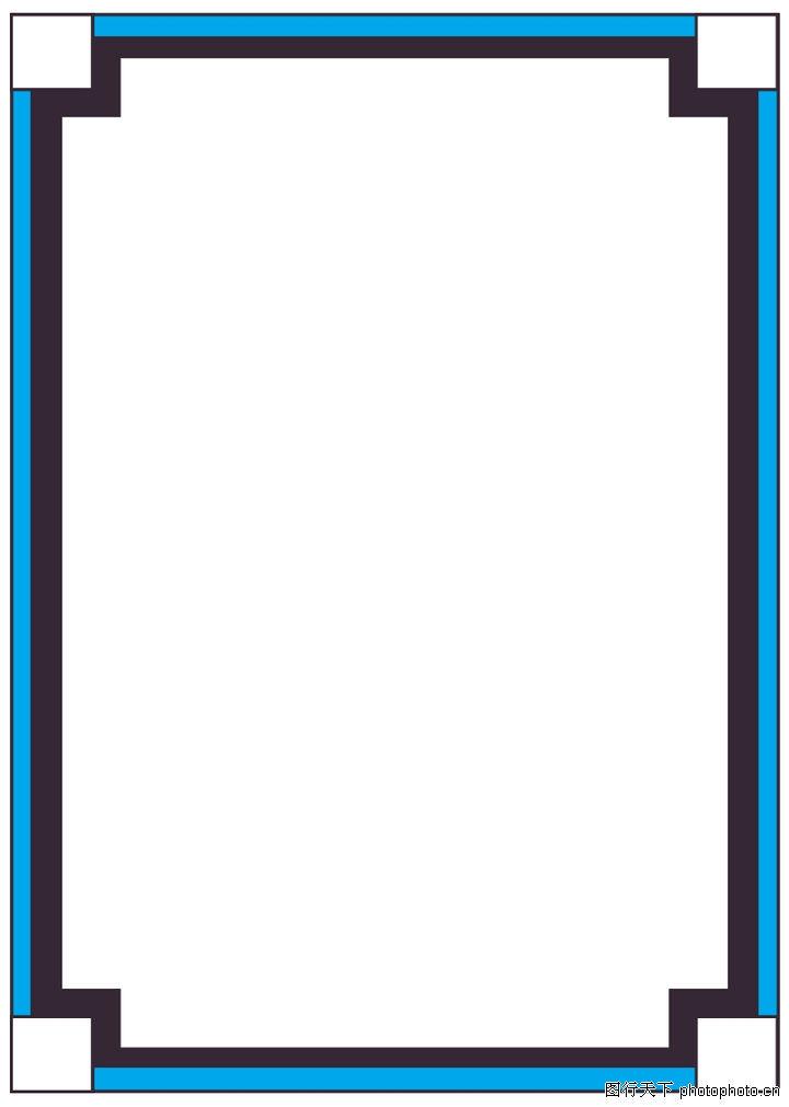 ppt 背景 背景图片 边框 模板 设计 相框 720_1010 竖版 竖屏