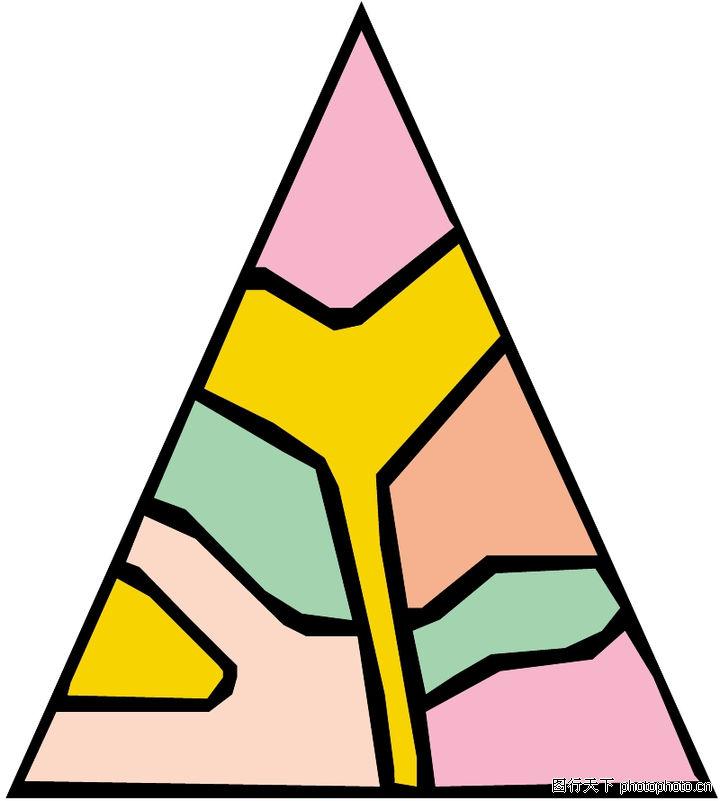边框背景图库-三角形