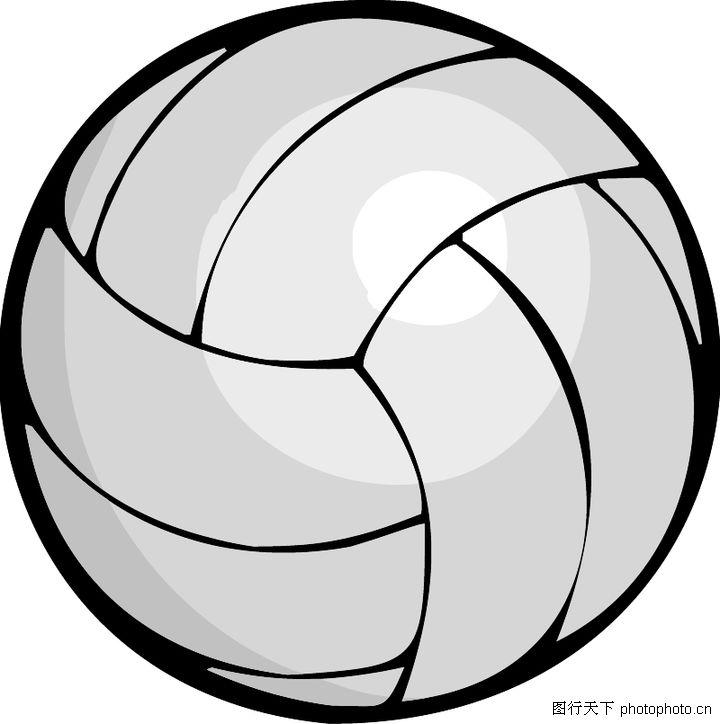 排球矢量图 矢量下载;