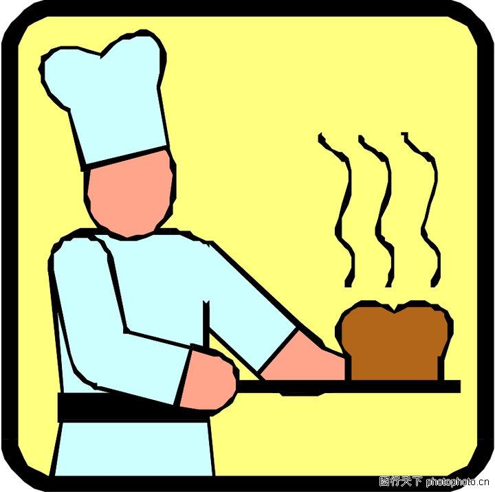 漫画卡通,厨师