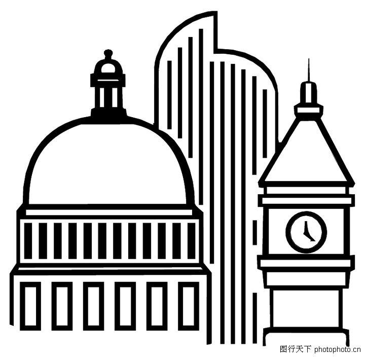 古代外国建筑物,意大利古代建筑物,日本古代建筑; 欧式建筑图片素材
