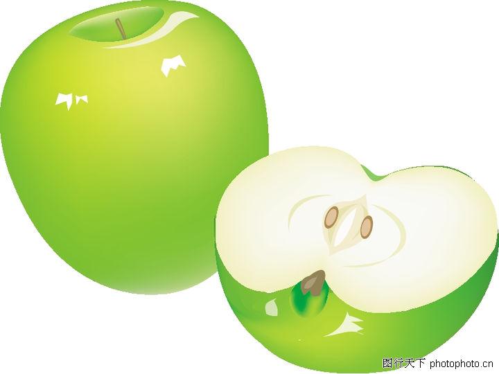水果大全,饮料食品,青苹果,水果大全0057