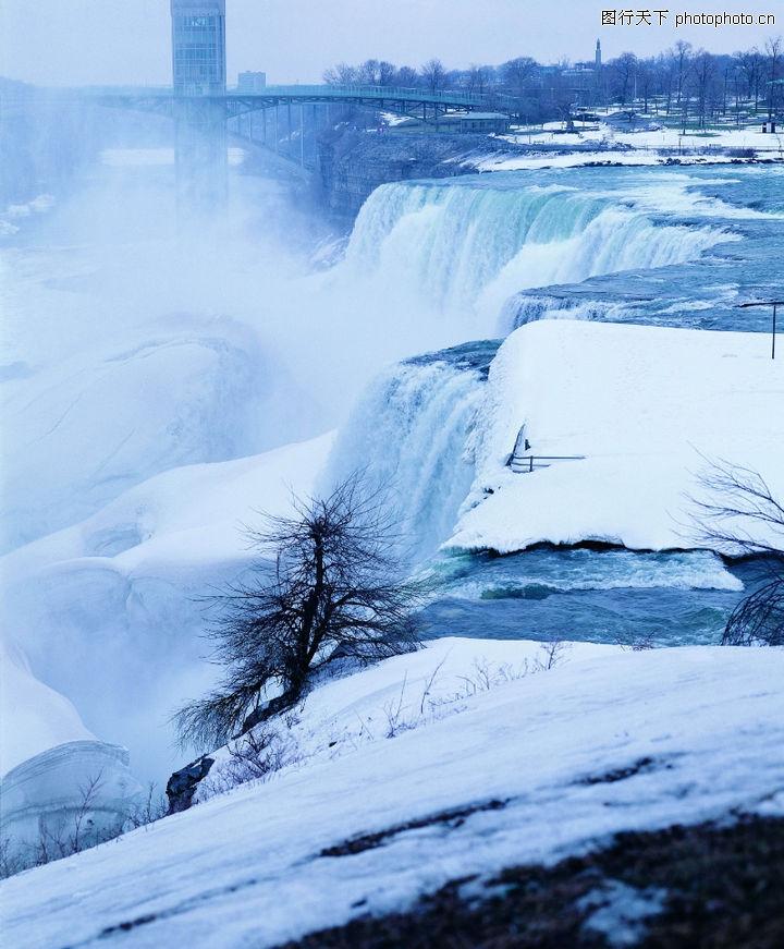 冬天雪景,自然风景,雪崩 雪山 雪地,冬天雪景0297