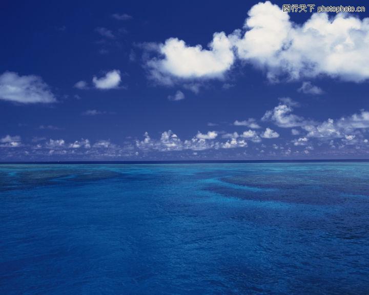 海滩,自然风景,平静 大海 黎明,海滩0076
