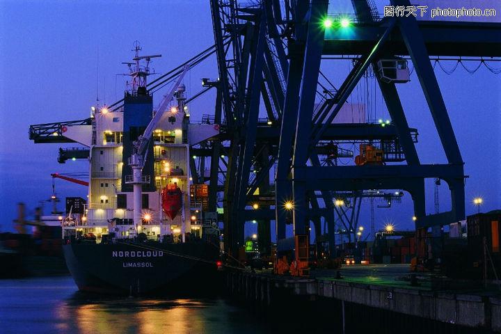 深海船舶,工业,港口 钢架 设施,深海船舶0052