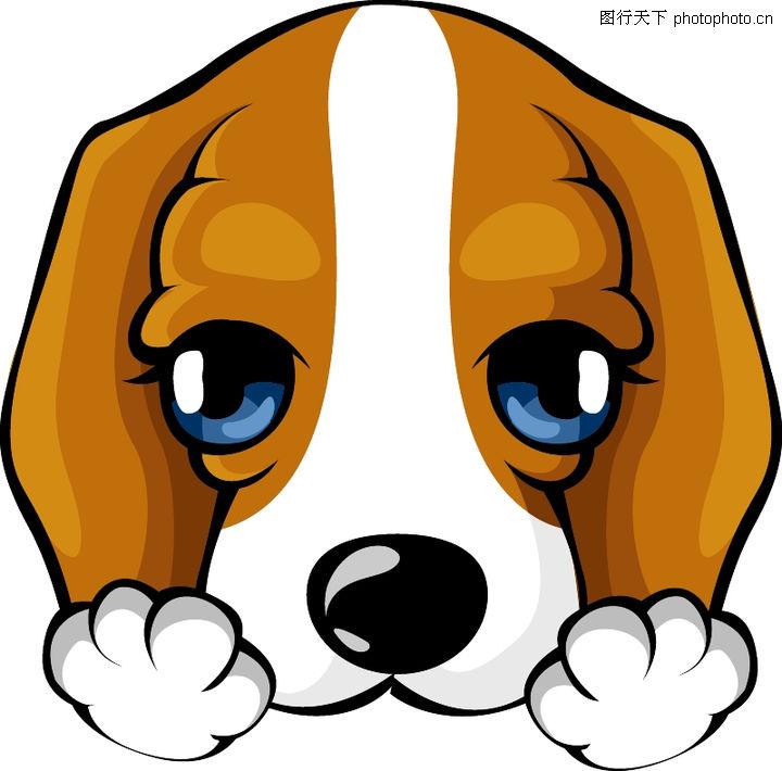 可爱小狗卡通头饰