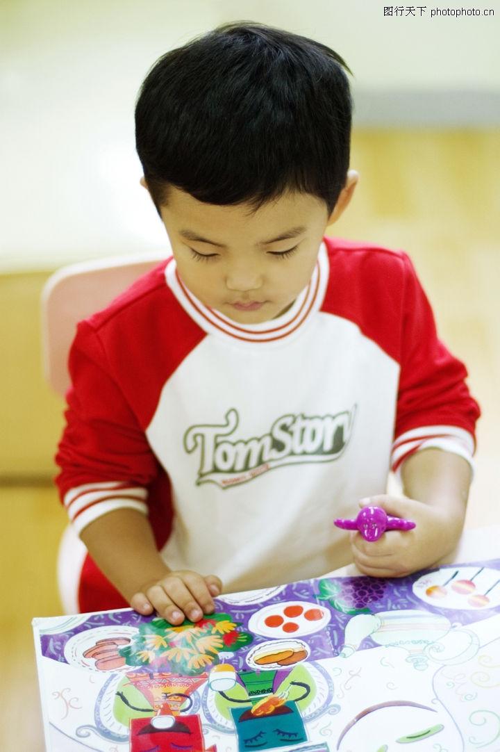 学前教育,儿童教育,孩子 拼图 游戏,学前教育0024