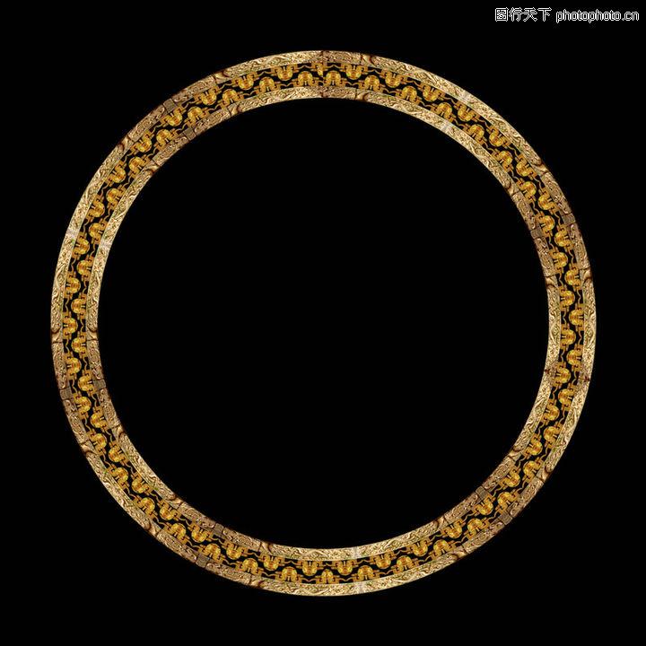 古建瑰宝,圆环 花纹