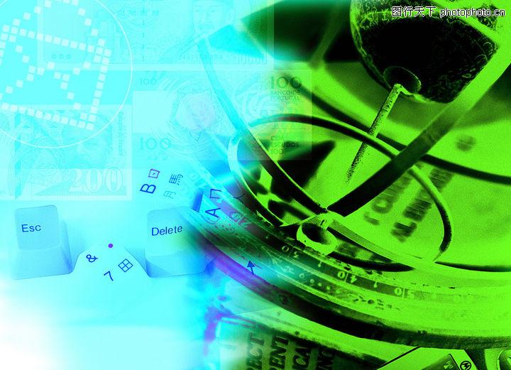 网路商机,未来科技,眼镜 绿色 物件,网路商机0034