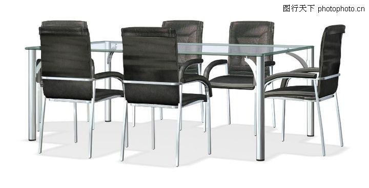 家具模型,装饰,玻璃 长方桌 饭桌,家具模型0113
