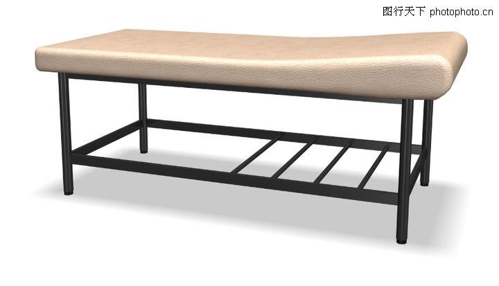 家具模型,装饰,手术台 铁架床 高低不一,家具模型0203