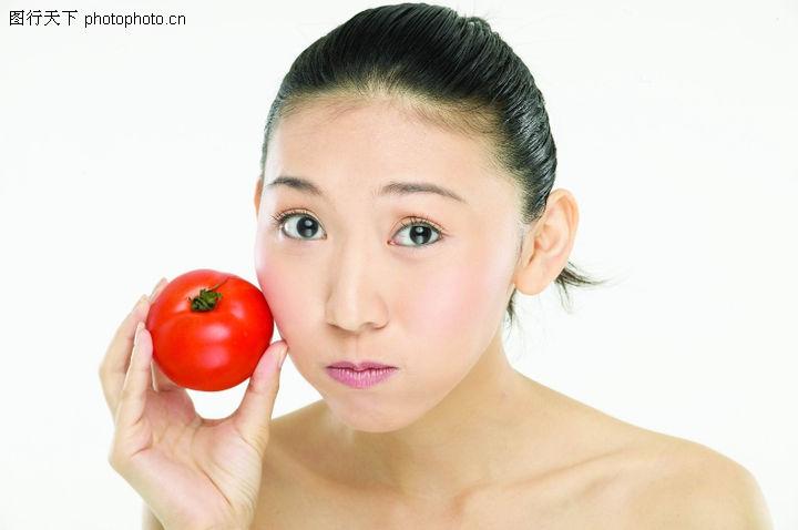 健康美容,休闲保健,可爱表情,健康美容0050