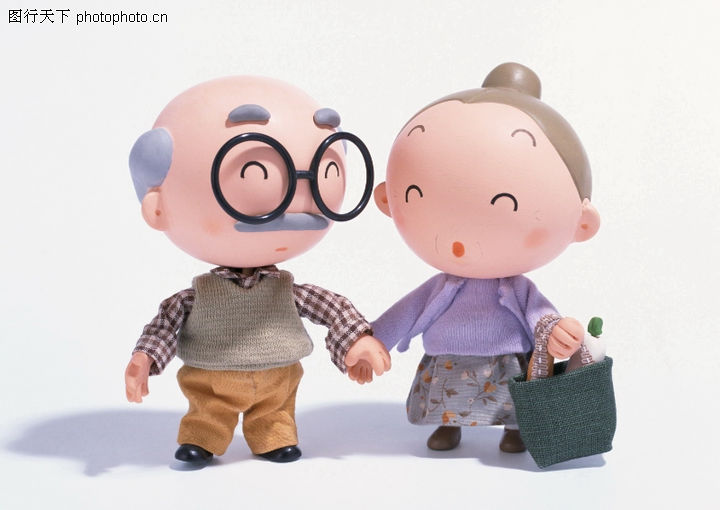 快乐家庭,休闲生活,老年人 眼镜 生活,快乐家庭0089