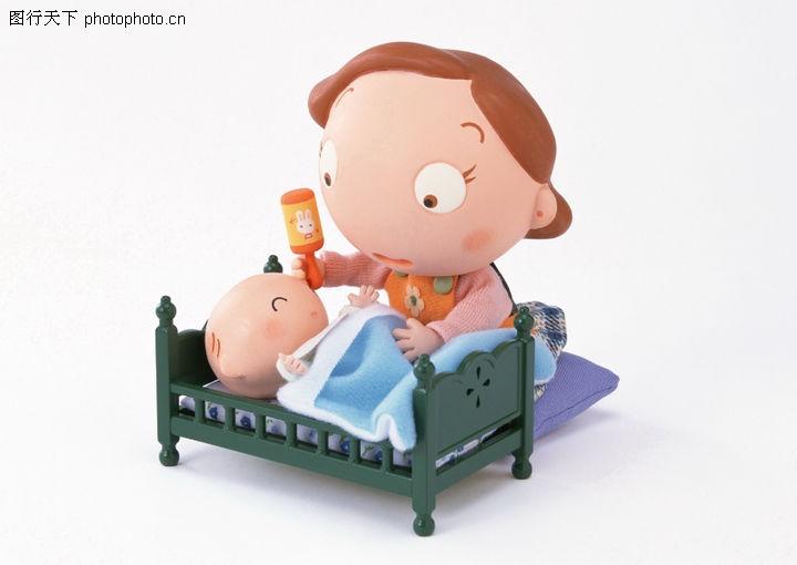 快乐家庭,休闲生活,小床 木偶 玩具,快乐家庭0117
