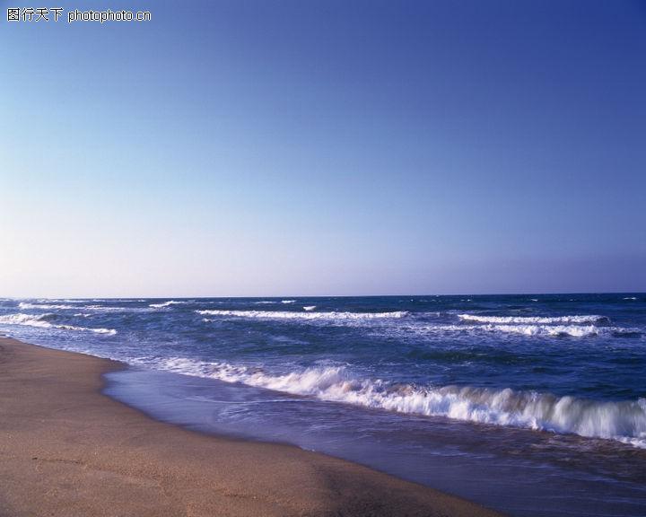 海洋风情,波浪 流动