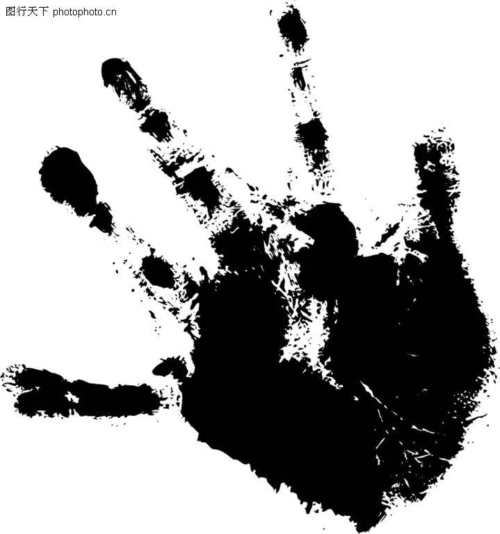 拓印,古典艺术,手掌 撒开 影印,拓印0002
