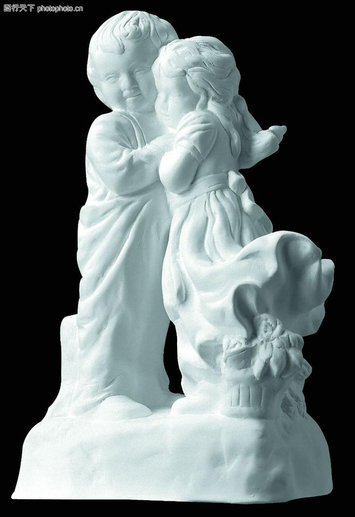 石膏像,古典艺术,小孩子