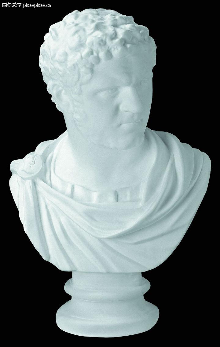 石膏像;; 雕塑; 石膏像