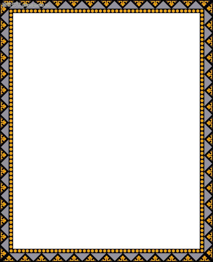 边框天地,底纹背景,相框 艺术 花纹,边框天地0063
