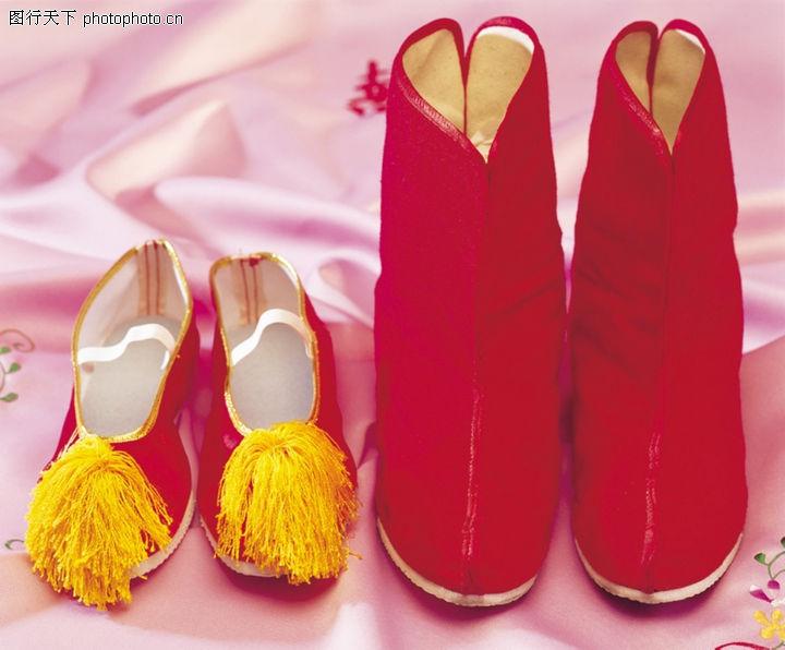 喜庆婚姻,古代鞋子