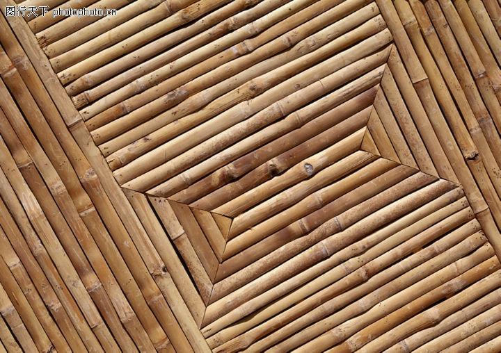 木条 拼整 屋顶 高清图片
